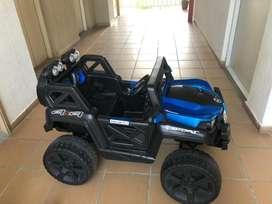 Carro electrico 4x4