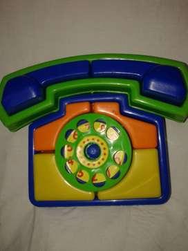 Telefono nuevo  Didactico 1era Infancia New Plast Nuevo