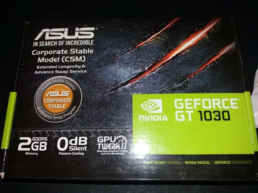Placa de Video Asus Gt 1030 2gb Gddr5 0