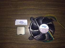 Procesador Intel core 2 duo E7500 - Cooler LGA 775 - Pasta Térmica