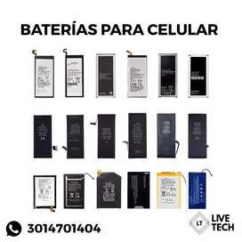 Baterías para celular