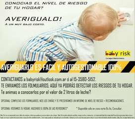 Servicio de atenuación de riesgos hogar niños bebes Baby Risk