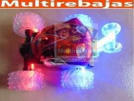Carro Loco Con Luces a Control Remoto