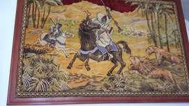 Tapiz Marroqueño, Enmarcado