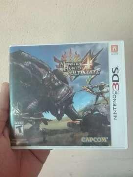 2 Juegos monster hunter de 3DS