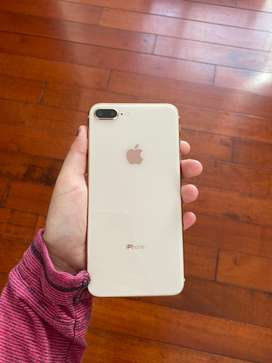 IPhone 8 Plus, rose gold, claro.64 G