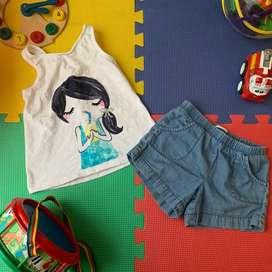 Conjuntos para niña 3-4