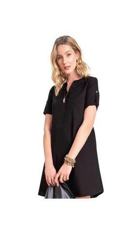 Vestido Negro Talla M