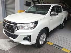 Toyota Hilux Diesel AT 2020 4x4 TN