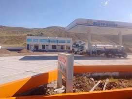 SE ALQUILA GRIFO EN JULIACA SALIDA A CUSCO KM 14