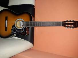 Se vende guitarra acustica nueva
