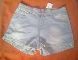 Short de jeans elastizada talle 40 y 42