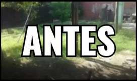 Se hacen Cortés de césped y limpieza de terrenos