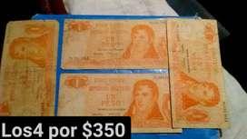 Billetes de un peso antiguo