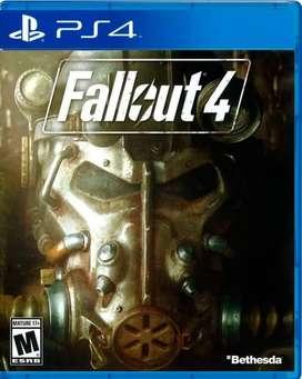 Fallout 4 y Horizon Ps4