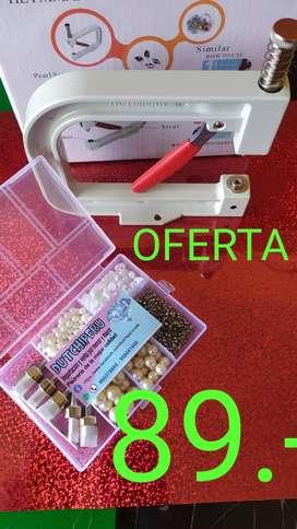 Aplicador de perlas (Remachadora)