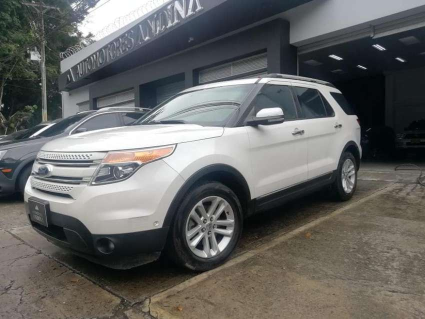 Ford Explorer Limited Automatica Sec 2011 3.5 4WD 539 0