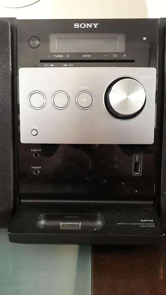Equipo Sonido Sony Cfx200 0