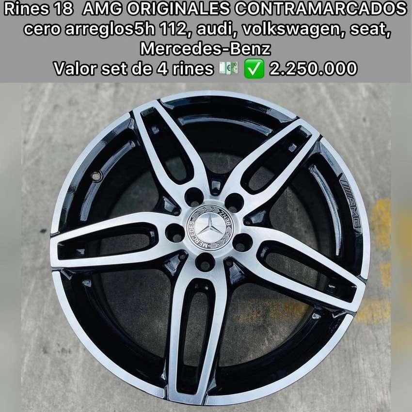 Runes 18 Mercedes-Benz AMG oeiginales contramarcados