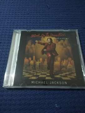 Michael Jackson cd Blood on the dance floor.