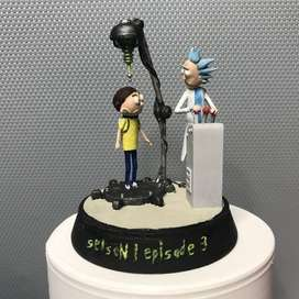 Figura Rick Y Morty Diorama Episodio 3