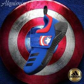PromoTenis Adidas RapidaBounce Avengers Cap. America