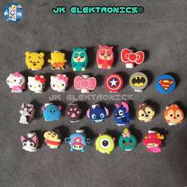 Protector Cables Lightning iPhone 2-3mm Lindos Personajes