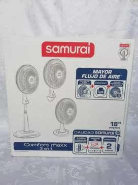 Ventiladores samurái