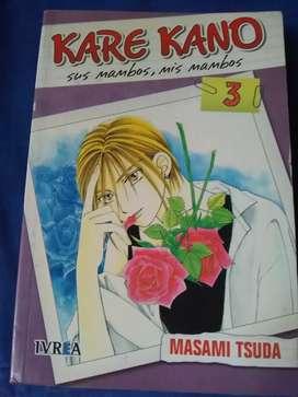 Manga de Kare Kano tomo 3, usado segunda mano  Luis Guillón, Capital Federal y GBA