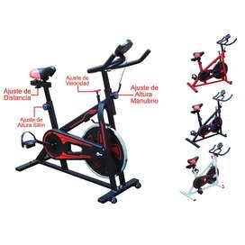 Bicicleta Estática de Spinning Nivel Profesional
