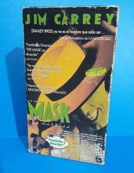 THE MASK – LA MASCARA – PELICULA EN VHS