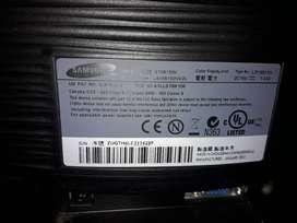 "Monitor LED sansumg Syncmaster S19B150 de 19"""