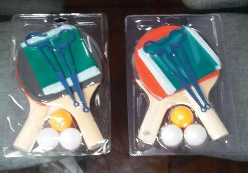Kit de Raquetas 3 Pin Pon y la Maya
