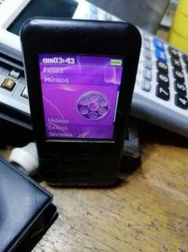 Reproductor creativo Zem mosaico 16 gb video música fotos usado buen estado batería 12 horas  cargador