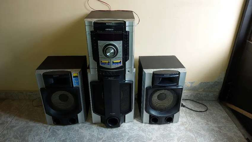 Equipo de Sonido Sony 0