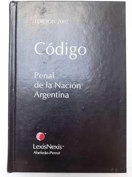 Codigo Penal de la Nacion Argentina Edicion 2002 Abelardo-Perrot