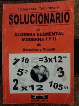 Solucionario Algebra Elemental Moderna I y II.