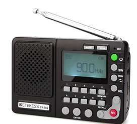 Radio Portable Am/fm Retekess TR 102. Linea Premium Tecno Shop Mas