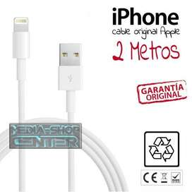 Cable original caja sellada Iphone Ligthing 2 mtrs
