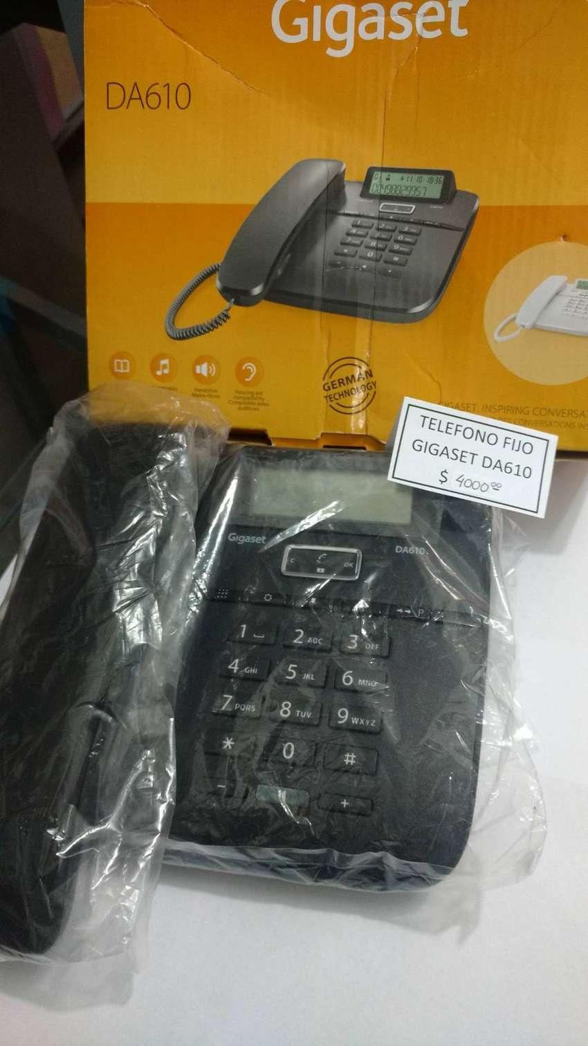 TELEFONO FIJO GIGASET DA610 - NUEVO 0