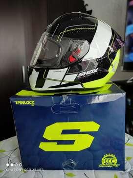 Vendo o cambio casco shox prácticamente nuevos