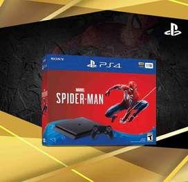 Ps4 Slim Mas Spiderman Nuevas Selladas