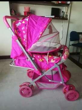 Coche Para Bebé (Niña)