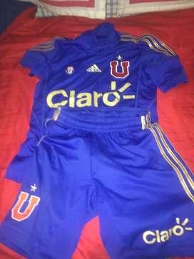 Conjunto Original U de Chile. Talle S
