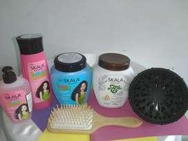 Tratamientos Naturales para el cuidado del cabello.SKALA.