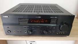 Amplificador Teatro Yamaha RX V657 + 7.1 canales + Front AB + SIN Control