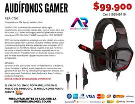 GT 97 Audífonos Gamer