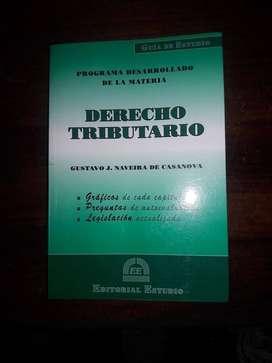Libro de Derecho Tributario. En buen estado