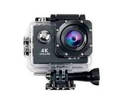 Camara Deporte Extremo Sport Cam 4k Wifi + Control Remoto