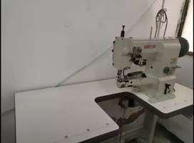 Maquina de coser Industrial, de Codo Triple Transporte marca Kingter  +   Maquina plana